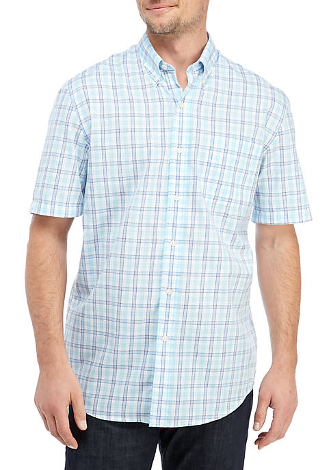 Big & Tall Short Sleeve Easy Care Classic Fit Shirt
