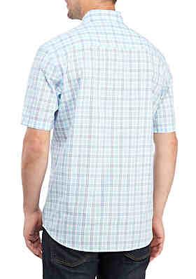 ... Saddlebred® Big   Tall Short Sleeve Easy Care Classic Fit Shirt a62cfa6812a8f