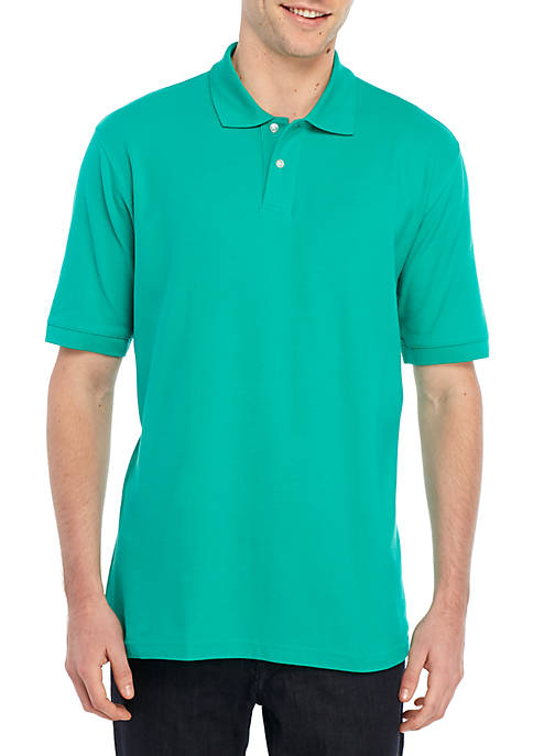 d49cb35a872 Columbia Big & Tall Short Sleeve Perfect Cast Polo Shirt | belk
