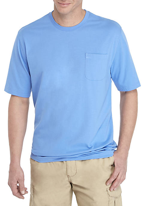 Saddlebred® Big & Tall Comfort Flex Solid Jersey