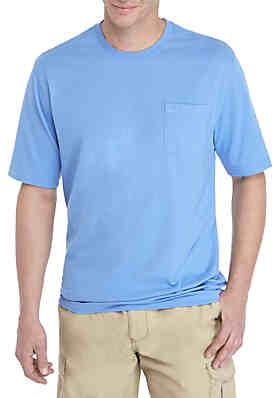 c5f4f6362e394a Saddlebred® Big   Tall Comfort Flex Solid Jersey T-Shirt ...