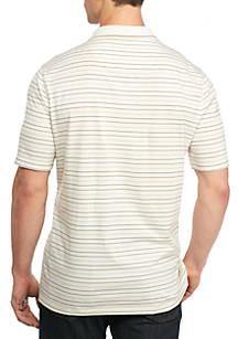 d4cf18f8a74 ... Saddlebred® Big   Tall Short Sleeve Stripe Jersey Polo Shirt