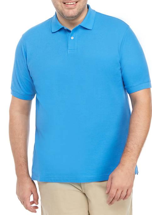 Saddlebred® Big & Tall Comfort Flex Polo Shirt