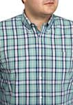 Big & Tall Easy Care Plaid Shirt