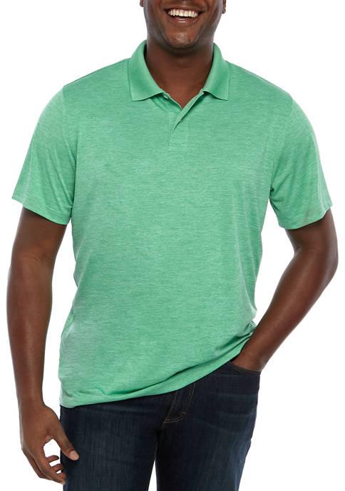 Saddlebred® Big & Tall Heather Polo Shirt