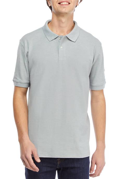 Short Sleeve Piqué Polo