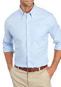 Long Sleeve Tailored Oxford Shirt