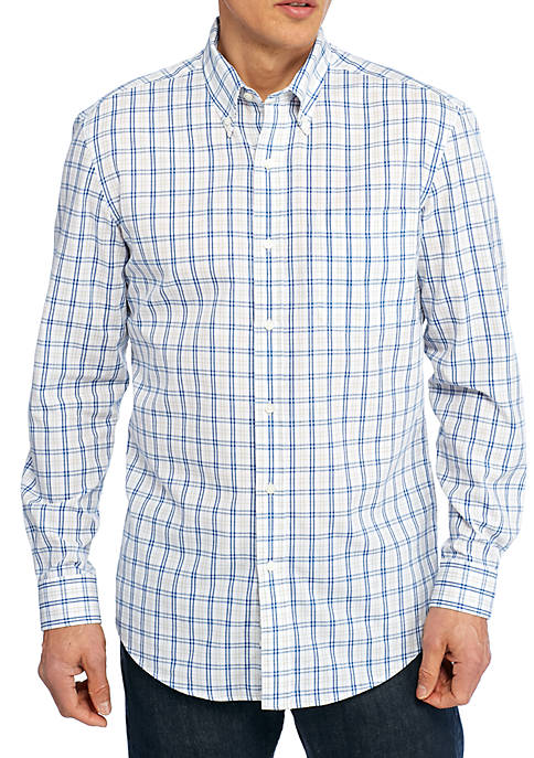 Saddlebred® Long Sleeve Easy Care Classic Fit Shirt