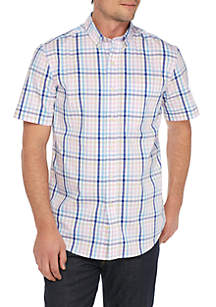 Wrinkle Free Comfort Flex Stretch Tailored Fit Shirt