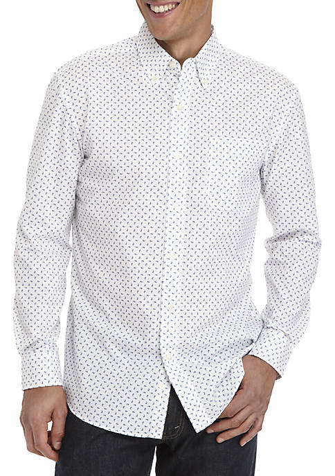 Saddlebred® Long Sleeve Classic Fit Easy Care Shirt
