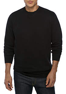 Ultra Soft Fleece Crew Neck Sweatshirt