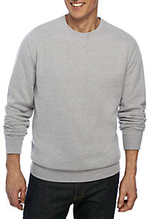Ultra Soft Fleece Crew Neck Sweatshirt