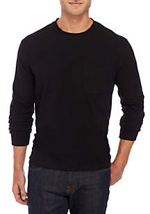 Long Sleeve Jersey Crew Shirt