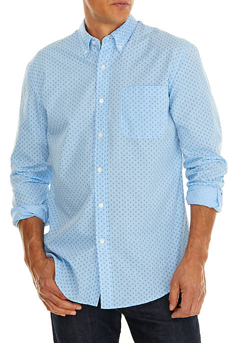 Saddlebred® Long Sleeve Button Down Shirt