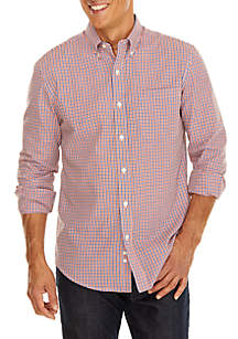 Saddlebred® Classic Woven Button Down Shirt