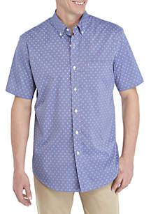 Saddlebred® Traveler Short Sleeve Woven Shirt