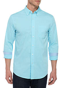 Saddlebred® Traveler Classic Fit Button Down Shirt