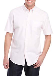 Saddlebred® Striped Short Sleeve Comfort Flex Shirt