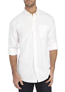 Saddlebred® Short Sleeve Comfort Flex Stretch Oxford Shirt