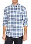 Long Sleeve Comfort Flex Stretch Classic Fit Oxford Shirt