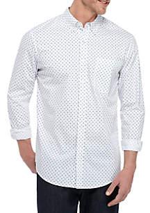 Saddlebred® Long Sleeve Wrinkle Free Comfort Flex Stretch Tailored Fit Shirt