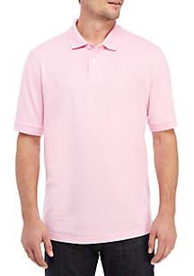 Saddlebred® Short Sleeve Pique Flash Polo Shirt