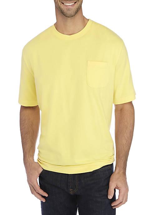 Solid Comfort Flex Short Sleeve Jersey T-Shirt