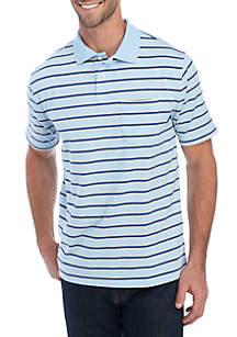 Saddlebred® Jersey Striped Polo