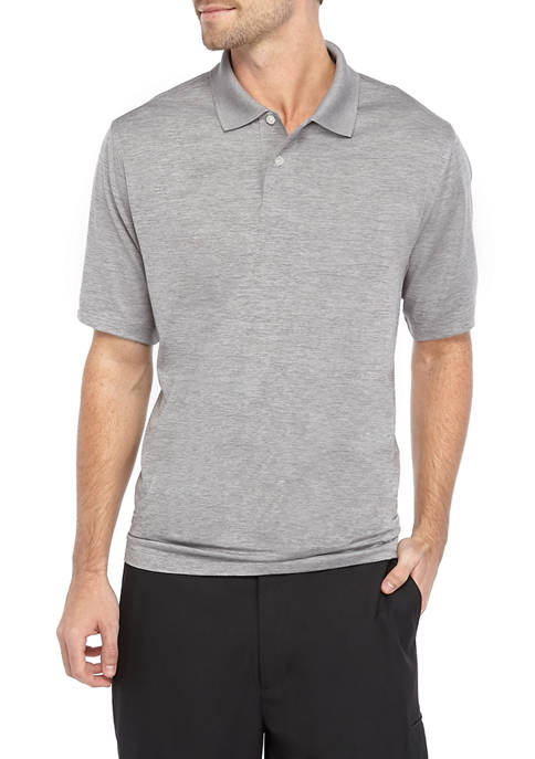 Mens Performance Moisture Wicking Polo Shirt