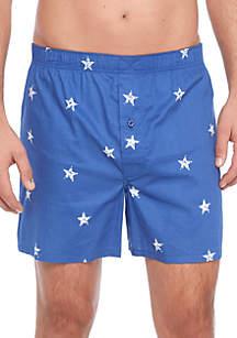 Star Print Boxers