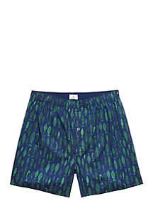 Fish Print Boxer Shorts