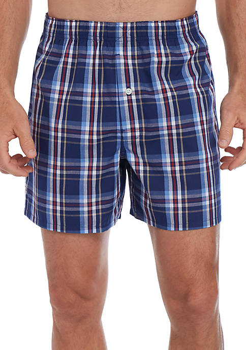 Yarn Dyed Woven Boxers