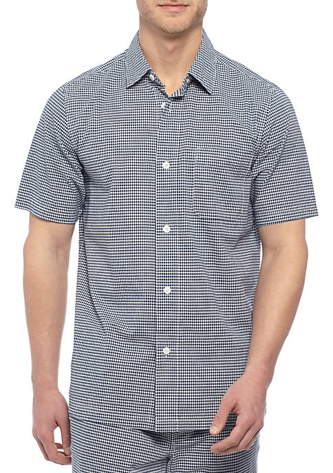 Saddlebred® Gingham Sleep Shirt