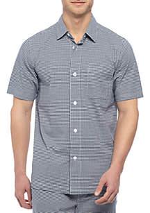 Gingham Sleep Shirt