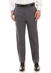 Saddlebred® Stretch Gab Flat Front Pants