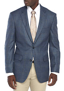 Blue Windowpane Sportcoat