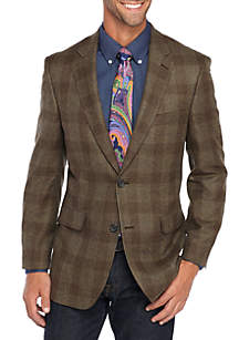 Deco Plaid Lightweight Sportcoat