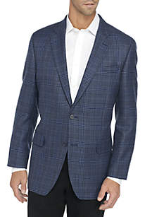Plaid Lambswool Sport Coat