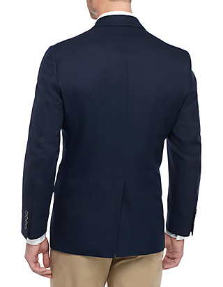 Saddlebred Navy 4 Way Stretch Blazer Belk