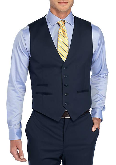 Saddlebred® Solid Stretch Suit Vest
