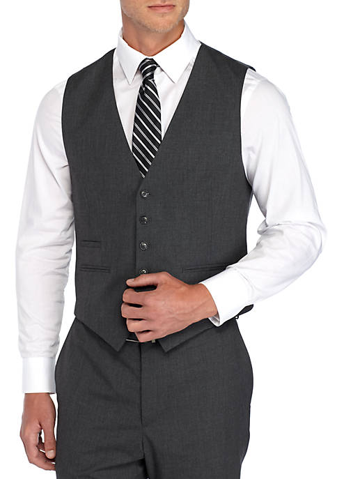 Saddlebred® Tic Stretch Suit Vest