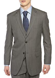 Classic Comfort Fit Herringbone Suit Separate Coat