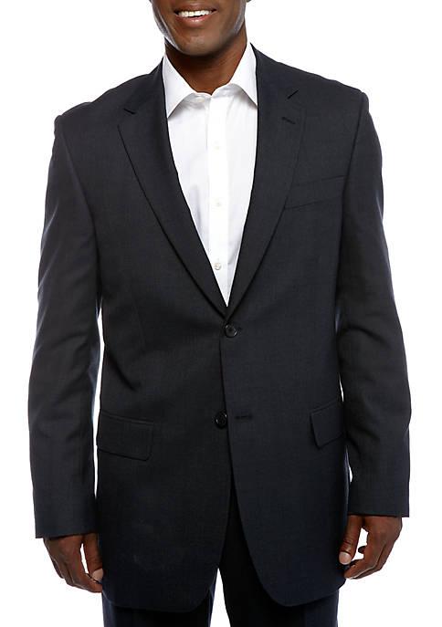 Saddlebred® Classic Comfort Fit Plaid Suit Separate Coat