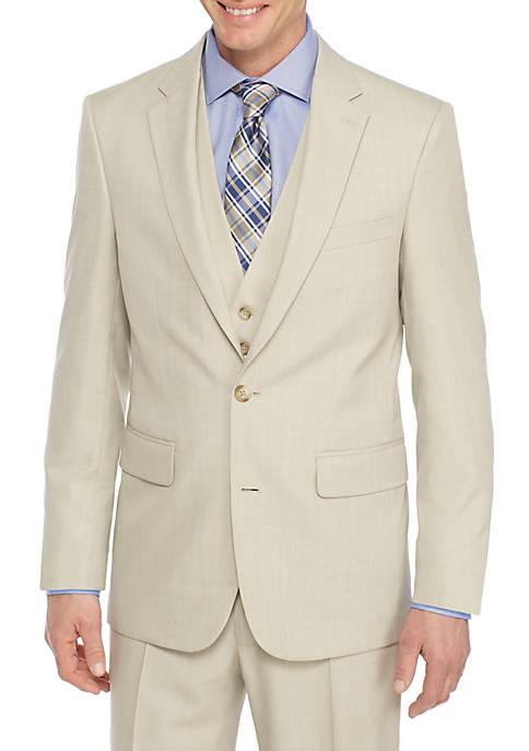 Saddlebred® Tonal Plaid Suit Separate Coat