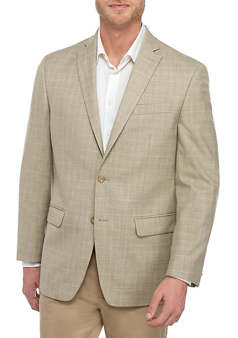 Tan and Blue Sportcoat