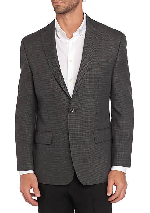 Black White Check Sportcoat