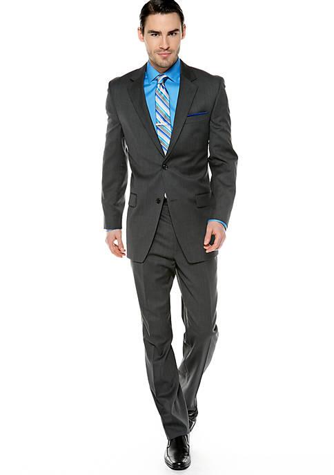 MICHAEL Michael Kors Classic Fit Solid Suit