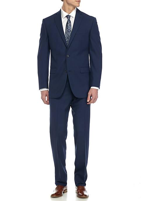 Slim-Fit Solid Suit