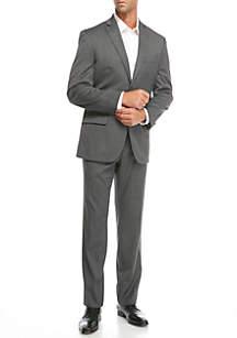 Grey Tic 2-piece Suit