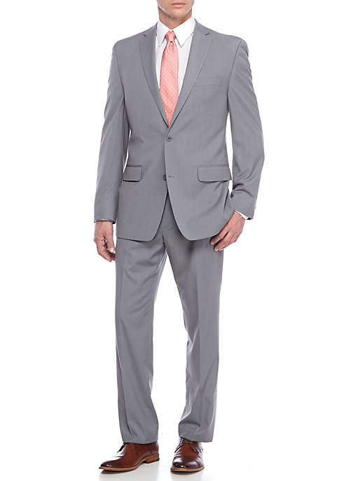MICHAEL Michael Kors Gray Stripe Suit